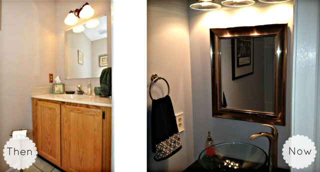 Hall Bathroom Collage