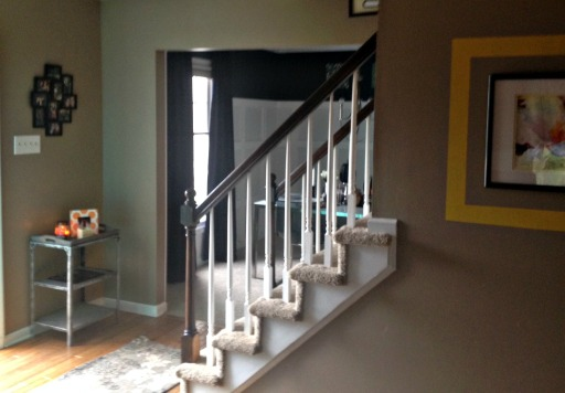 Stairs finished 4